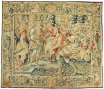 A FLEMISH OLD TESTAMENT BIBLICAL NARRATIVE TAPESTRY, BRUSSELS SECOND HALF 16TH CENTURY