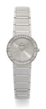 PIAGET | POLO, REFERENCE P10140, WHITE GOLD DIAMOND-SET BRACELET WATCH, CIRCA 2006