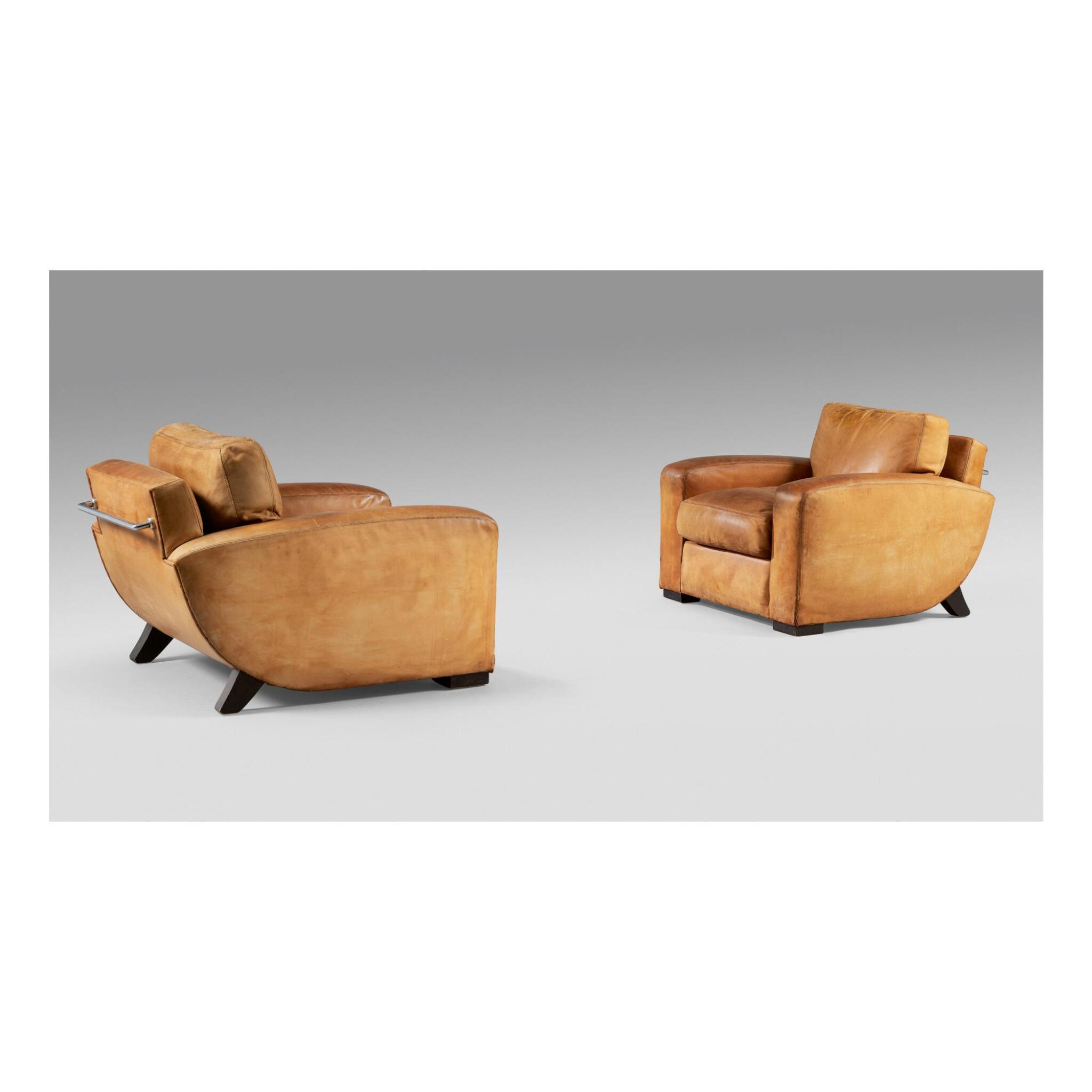 MICHEL ROUX-SPITZ | PAIR OF ARMCHAIRS