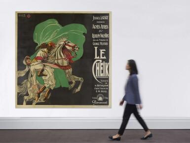 THE SHEIK/LE CHEIK (1921), POSTER, FRENCH