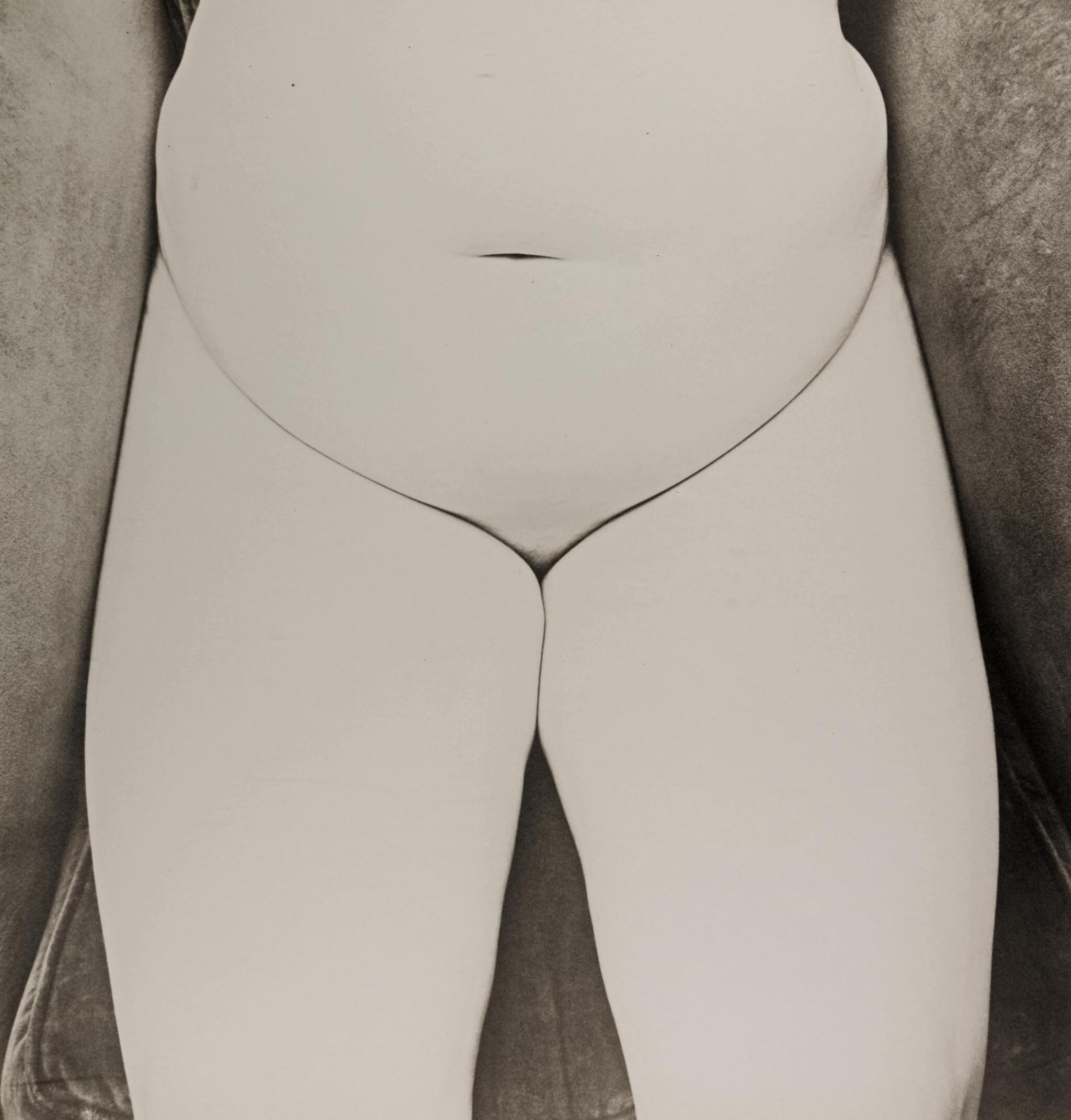 View full screen - View 1 of Lot 32. IRVING PENN | 'NUDE 150', NEW YORK, 1949-50 .