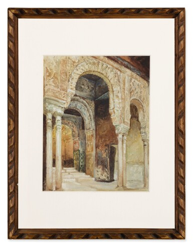 View 2. Thumbnail of Lot 23. The Alhambra, Granada (after Henri Regnault).