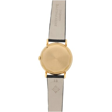 View 4. Thumbnail of Lot 24. REFERENCE 3445 A PINK GOLD AUTOMATIC WRISTWATCH WITH DATE, MADE IN 1963.