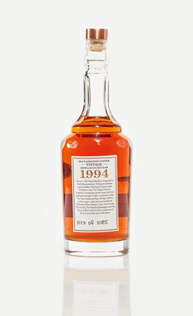 View 3. Thumbnail of Lot 66. Old Fashion Copper OFC Bourbon 45.0 abv 1994 (1 BT75cl).