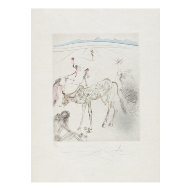 View 9. Thumbnail of Lot 93. SALVADOR DALÍ   THE HIPPIES (MICHLER & LÖPSINGER 377-387; FIELD 69-13).