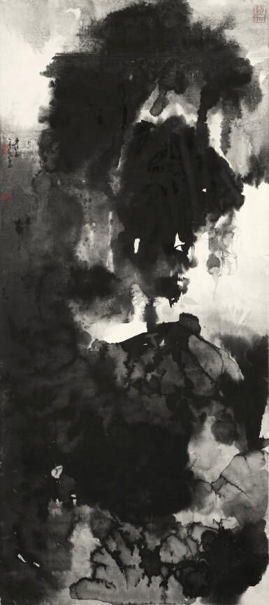 View 1. Thumbnail of Lot 2666. Zhang Daqian (Chang Dai-chien, 1899-1983) 張大千 (1899-1983)   Majestic Mountains in Cloudy Mist 無象之象.