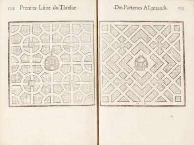 View 5. Thumbnail of Lot 62. Le Thresor des parterres de l'univers. Genève, 1629. In-4. Reliure de Bruyère. Seule et unique édition..