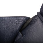 Hermès Bleu Nuit Birkin 35cm of Togo Leather with Gold Hardware