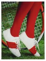 ROE ETHRIDGE | CHANEL TENNIS SHOES