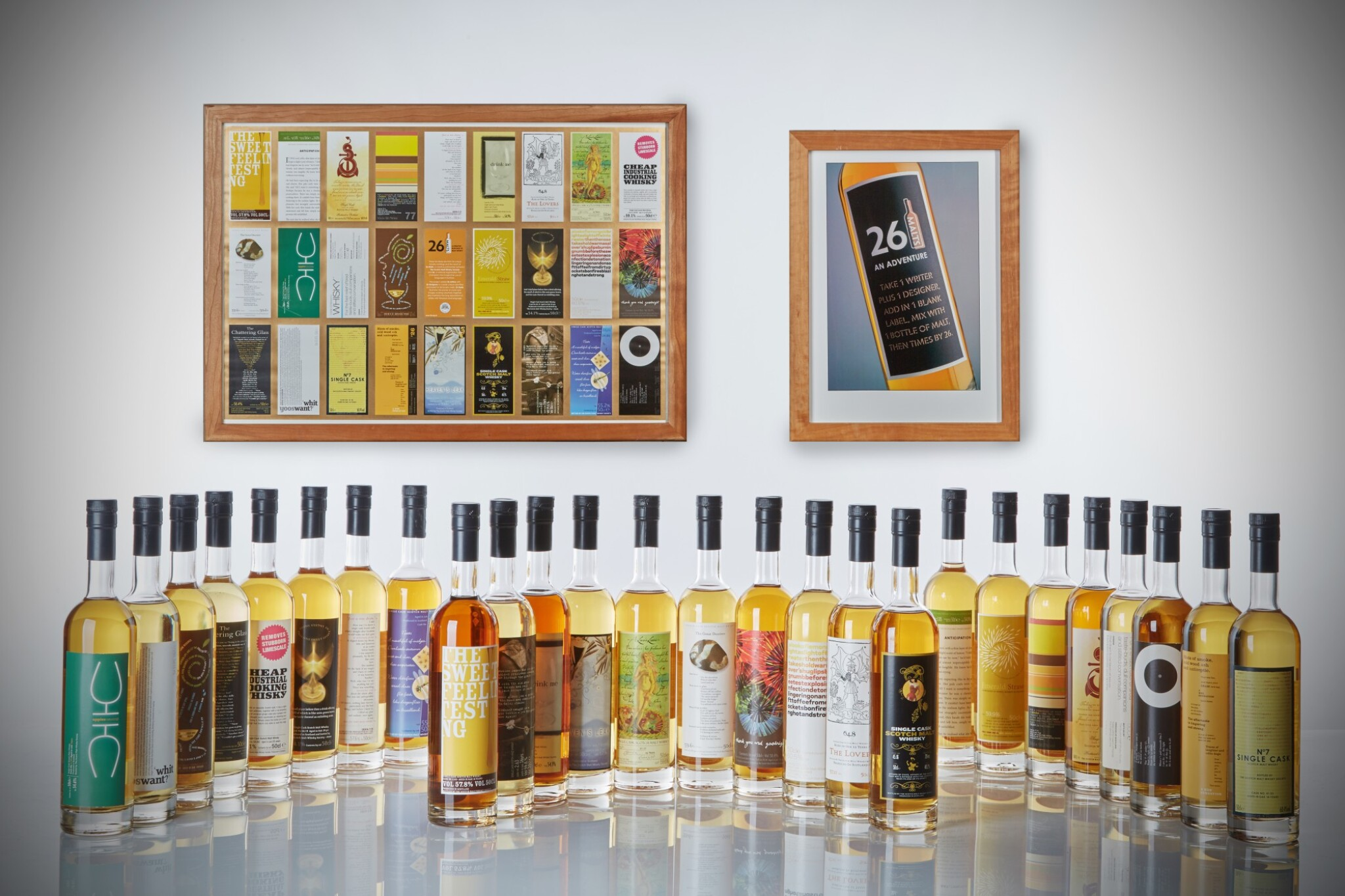 View full screen - View 1 of Lot 186. The SMWS 26 Bottle Collection.