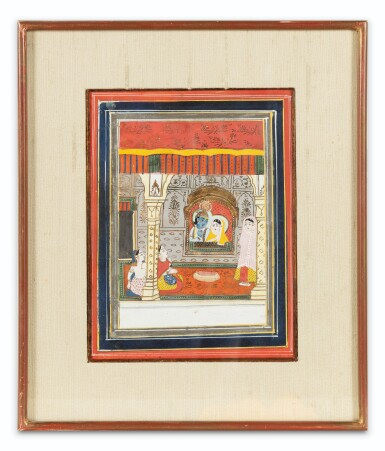 View 12. Thumbnail of Lot 37. RAJASTHAN, LATE 18TH CENTURY AND 19TH CENTURY | SIX INDIAN MINIATURES.