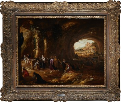View 2. Thumbnail of Lot 206. ROMBOUT VAN TROYEN | THE RESURRECTION OF LAZARUS.