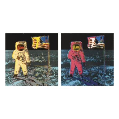 ANDY WARHOL | MOONWALK (F. & S. II.404 - 405)