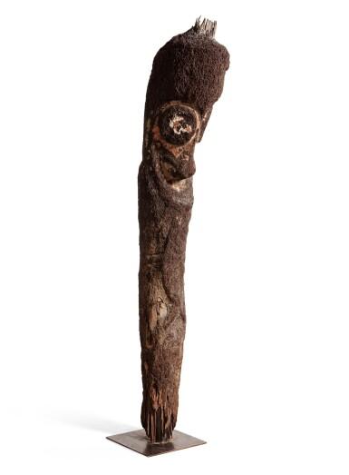 View 4. Thumbnail of Lot 67. Statue de grade en fougère arborescente, Archipel du Vanuatu | Tree-Fern grade-figure, Vanuatu Archipelago.