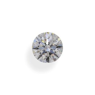 A 2.48 Carat Round Diamond, F Color, SI1 Clarity