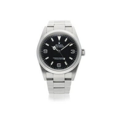 ROLEX | REFERENCE 114270 EXPLORER  A STAINLESS STEEL AUTOMATIC WRISTWATCH WITH BRACELET, CIRCA 2002