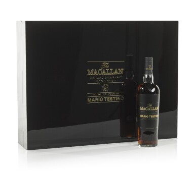 View 14. Thumbnail of Lot 7. The Macallan Mario Testino Masters Of Photography, Six Pillars, Full Collection (4 bts 70cl & 24 bts 5cl).