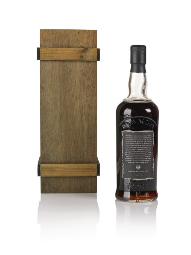 View 2. Thumbnail of Lot 42. Bowmore Black Second Release 50.0 abv 1964 .