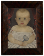 WILLIAM MATTHEW PRIOR | BABY WITH RATTLE