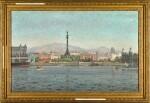 CHRISTIAN BENJAMIN OLSEN   Barcelona Harbour