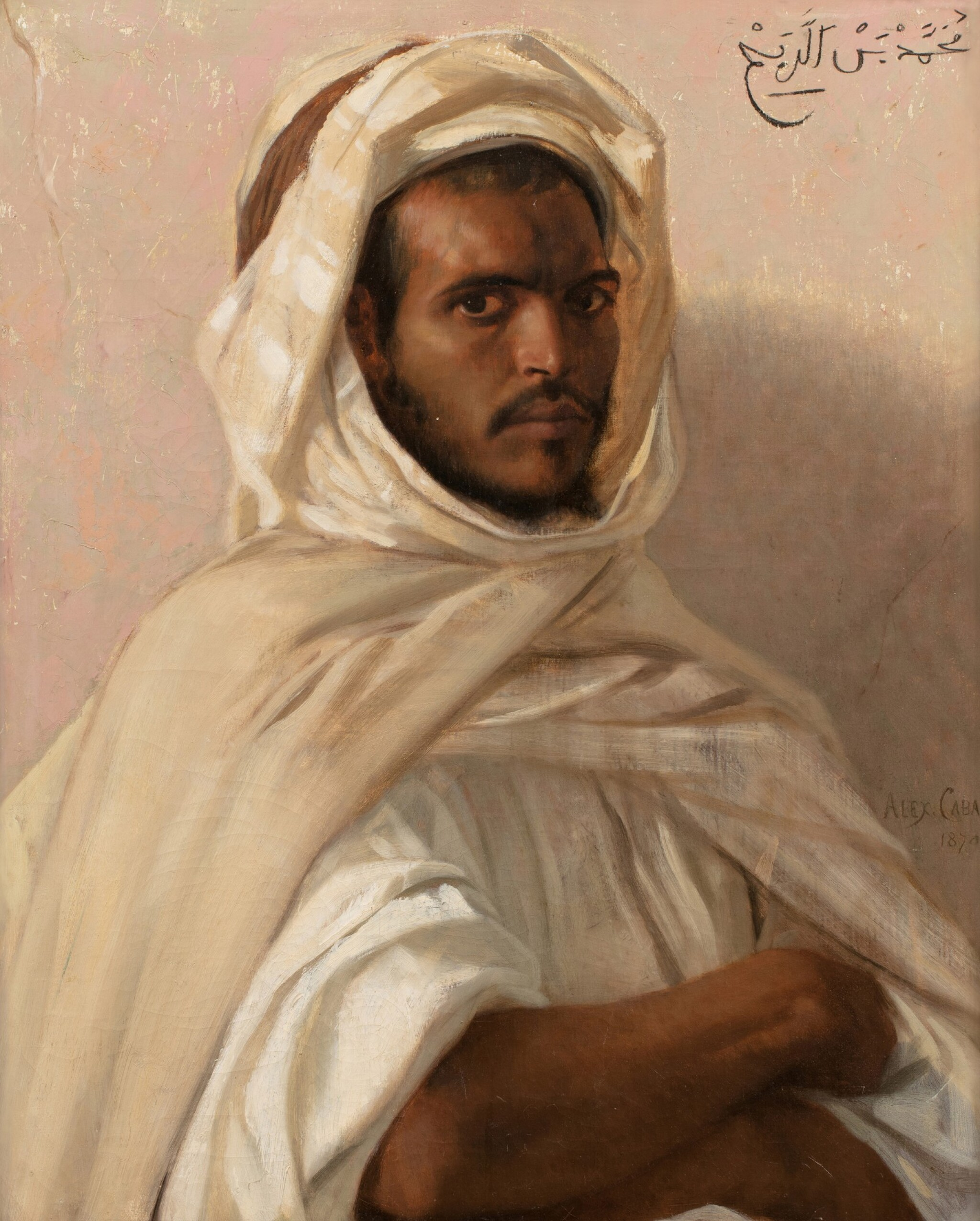 View full screen - View 1 of Lot 28. Portrait of a North African.