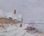 La Neige à Tournedos sur Seine