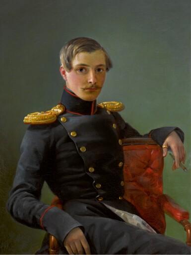 PIMEN NIKITICH ORLOV   Portrait of Alexander NikolaevichKaramzin