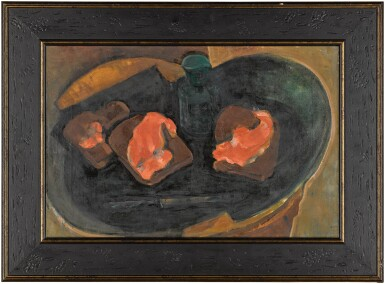 View 2. Thumbnail of Lot 118. Still Life with Red Fish.