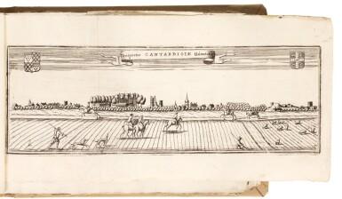 [Coronelli] | Oxoniae, atque Cantabrigiae Universitates celeberrimae, [c.1705]