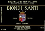 Brunello di Montalcino, Tenuta Greppo Riserva 1999 Biondi-Santi (2 BT)