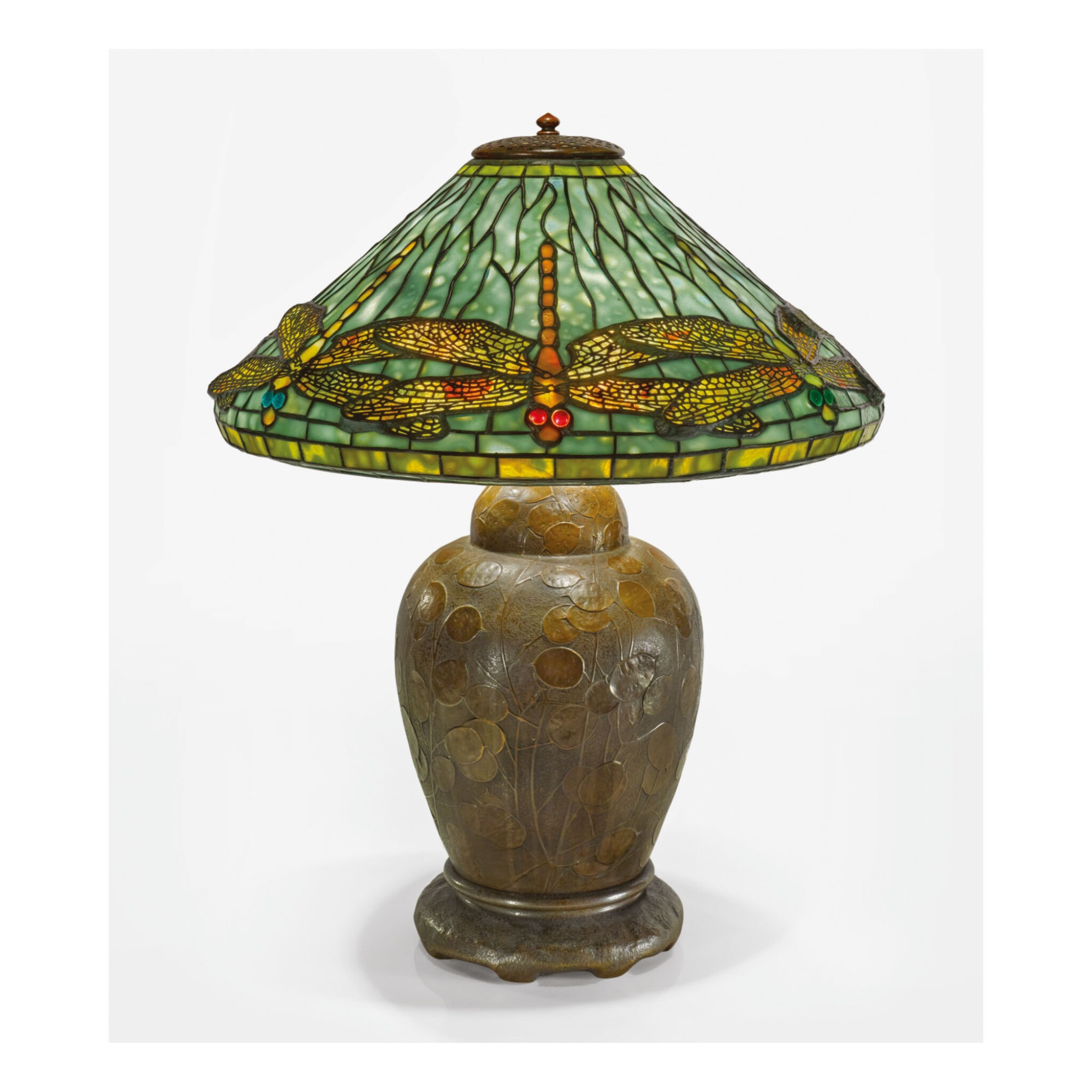 """View 1 of Lot 25. TIFFANY STUDIOS 