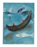 MARC CHAGALL | THE DEAD DOLPHIN AND THE THREE HUNDRED DRACHMAS (M. 338; SEE C. BKS. 46)
