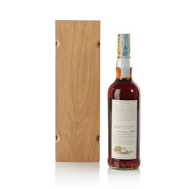 View 2. Thumbnail of Lot 15. The Macallan Fine & Rare 30 Year Old 56.4 abv 1971 .