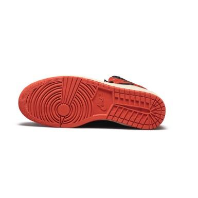 View 10. Thumbnail of Lot 7.  Peter Moore | 'Bred' Nike Air Jordan 1 High OG (1985) | Size 11.5.