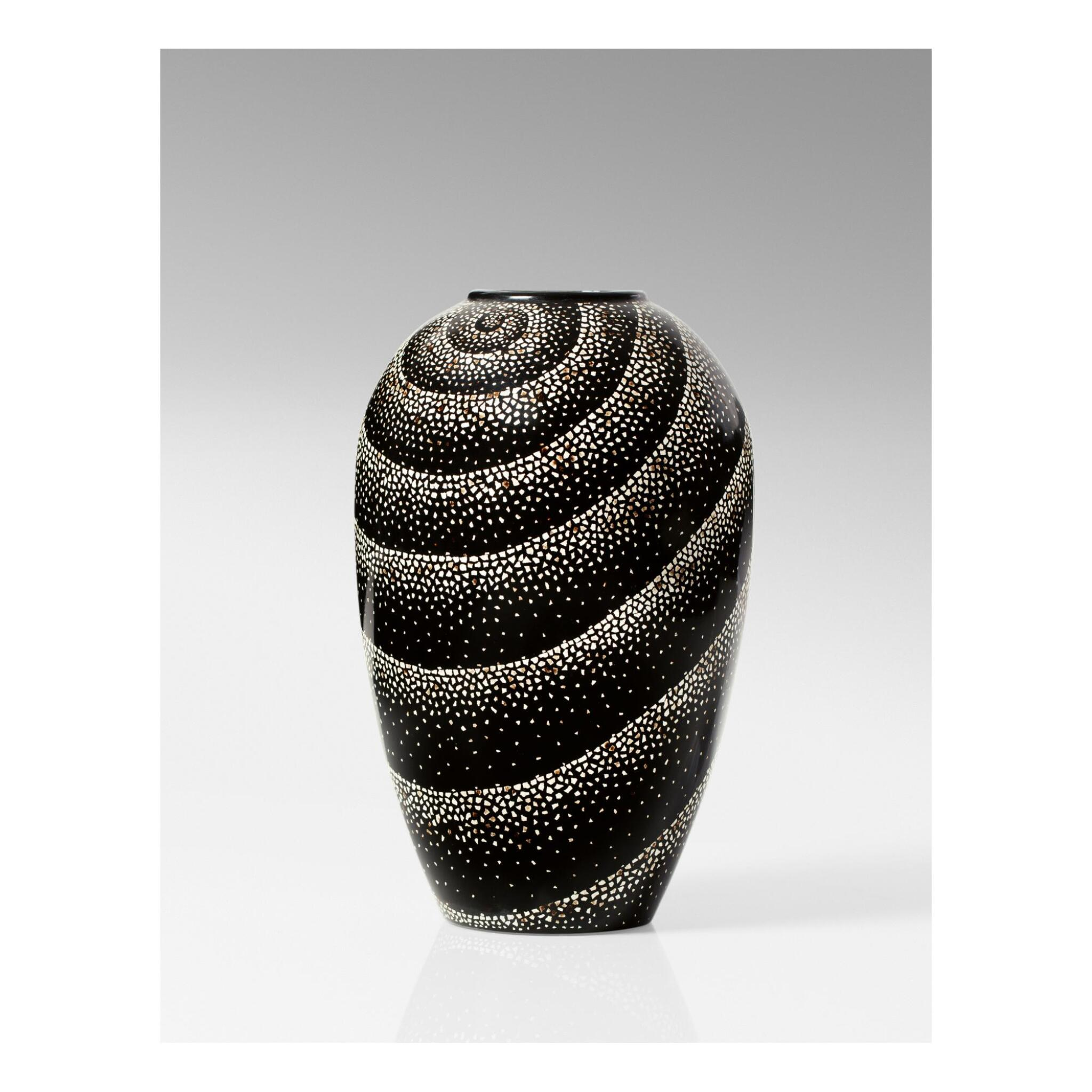 View full screen - View 1 of Lot 23. JEAN DUNAND   VASE.