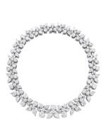 HARRY WINSTON   'HOLLY WREATH' DIAMOND NECKLACE   海瑞溫斯頓   'Holly Wreath' 鑽石項鏈 (鑽石共重約125.00卡拉)