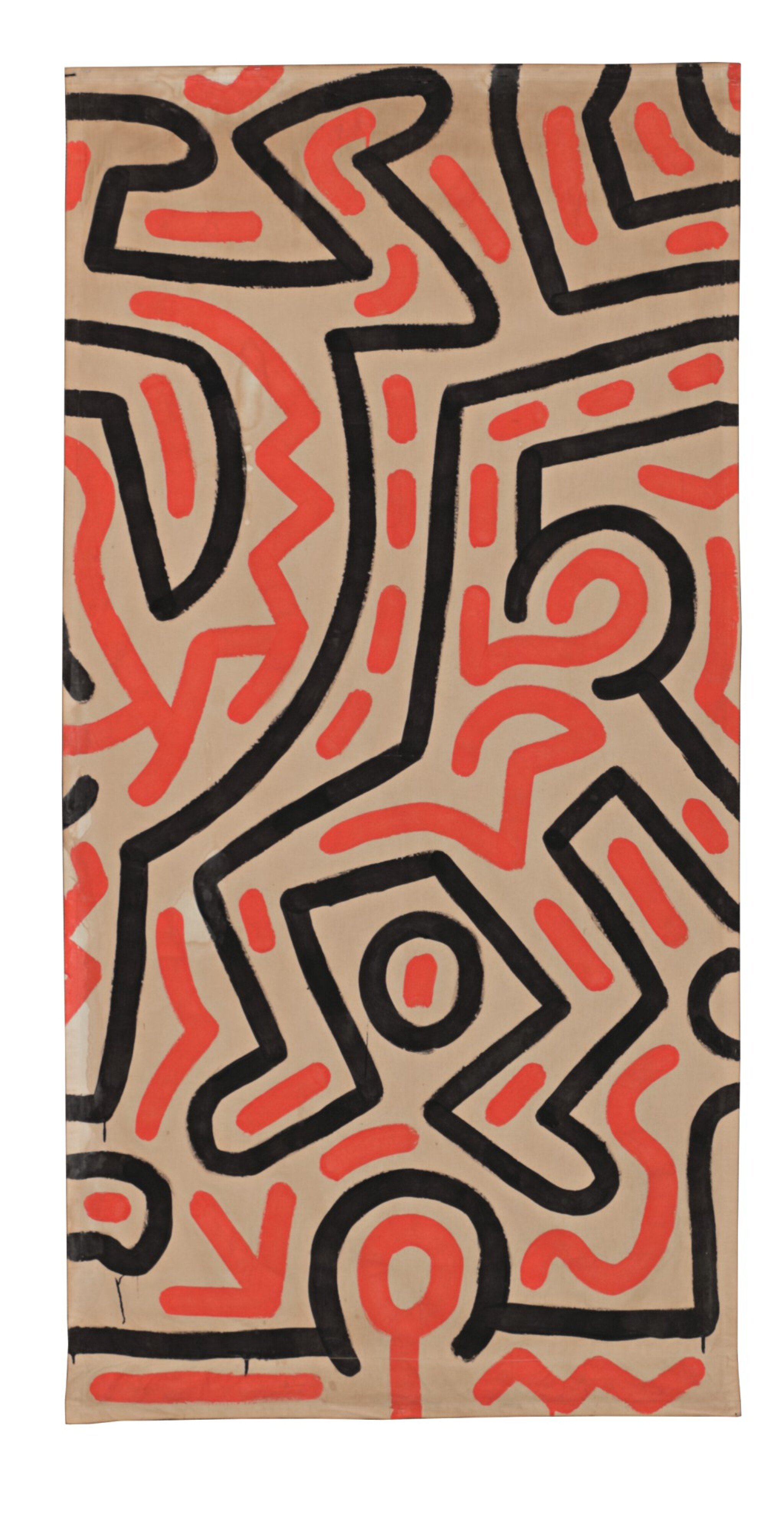 View full screen - View 1 of Lot 56. KEITH HARING   UNTITLED.