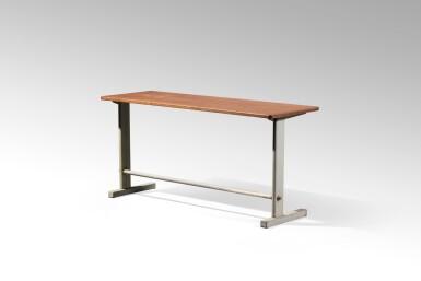 View 2. Thumbnail of Lot 18. Cité no. 500 Table, demountable variant, large model, 1952 .