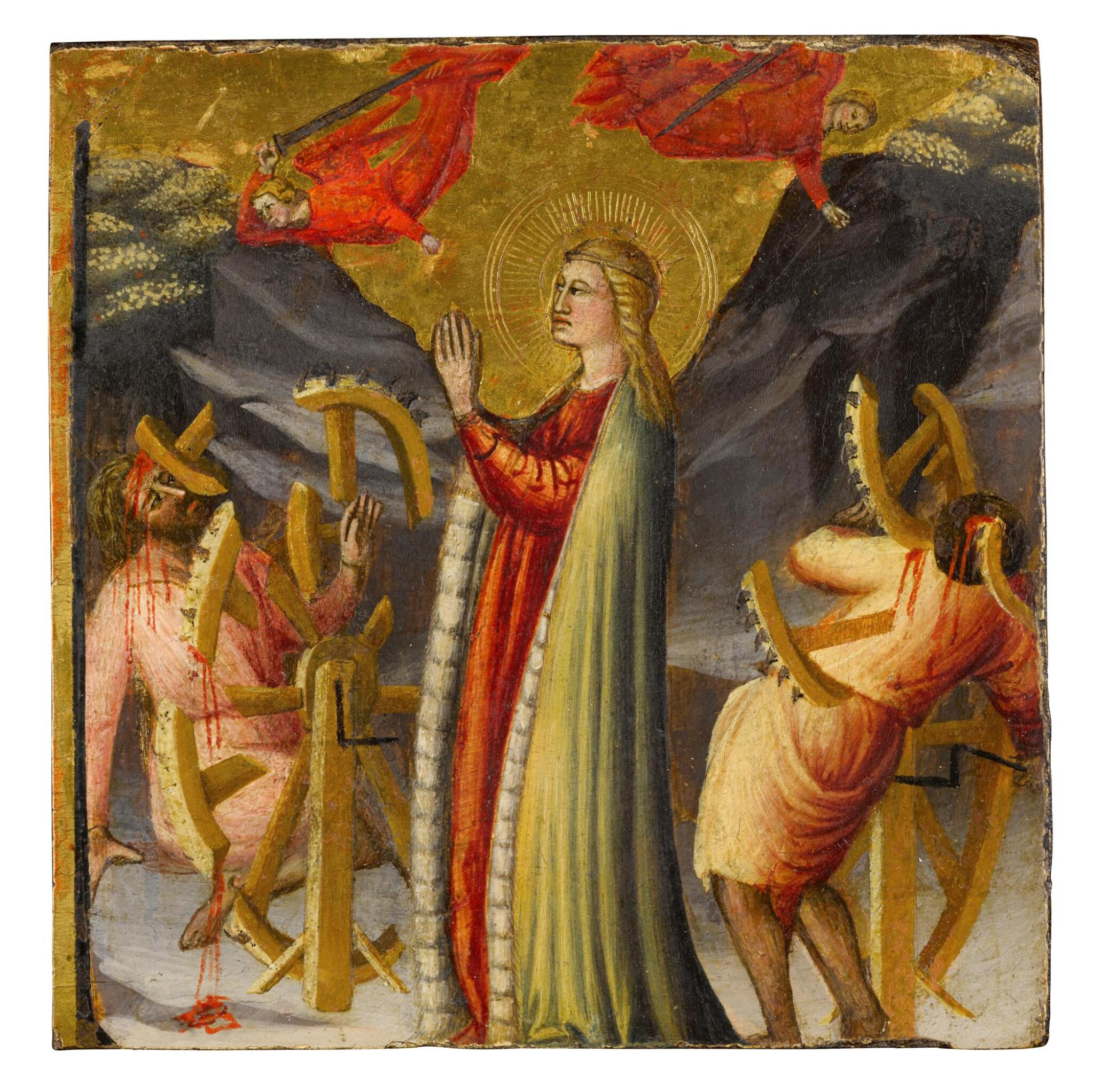 View full screen - View 1 of Lot 3. Martyrdom of St. Catherine.