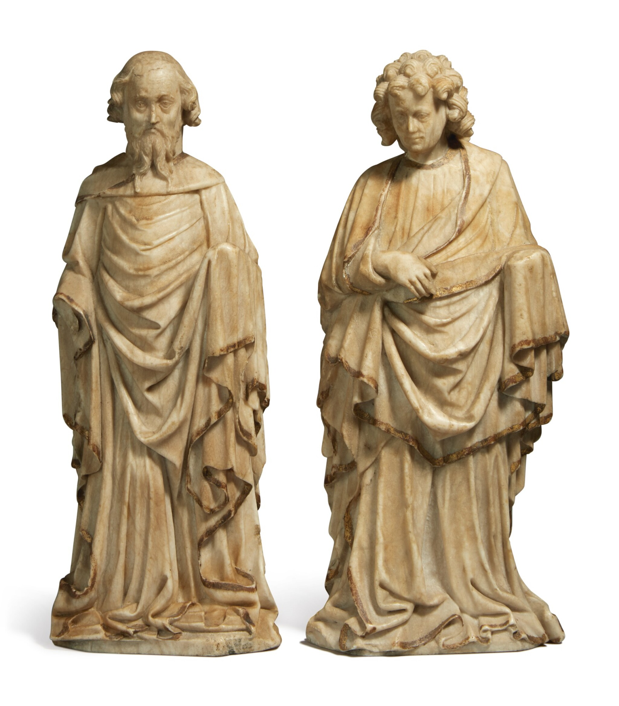 View full screen - View 1 of Lot 749. two apostles.