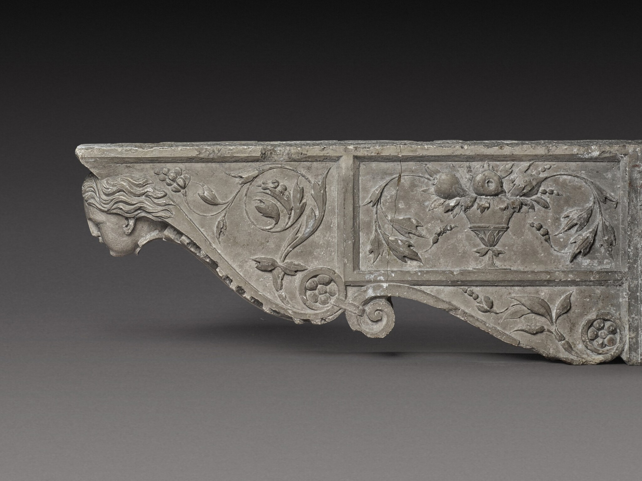 View 1 of Lot 129. Italian, Tuscany, 16th century | Pair of Architectural Brackets.