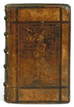 Erasmus, De ratione conscribendi epistolae, Antwerp, 1544, Spes panel binding, Ashburnham-Clements copy
