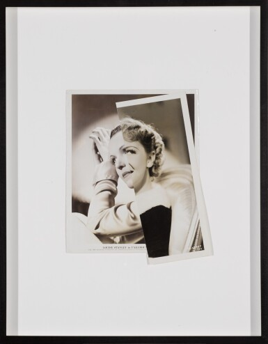 View 2. Thumbnail of Lot 49. She (Film Portrait Collage) V.