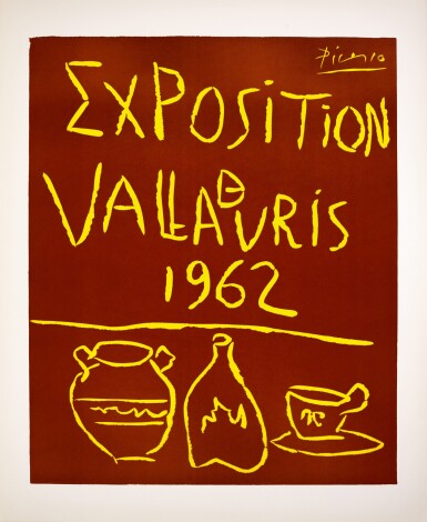 View 1. Thumbnail of Lot 113. PABLO PICASSO | EXPOSITION VALLAURIS 1962 (B. 1299; BA. 1335; CZW. 49).