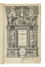JONSON, BEN | The Workes. London: Imprinted by Will Stansby, 1616 — The Workes of Benjamin Jonson. The Second [–Third] Volume. Containing these Playes, viz. 1 Bartholomew Fayre. 2 The Staple of Newes. 3 The Divell is an Asse. London: Printed for Richard Meighen, (1631–) 1640 [i.e., 1641]