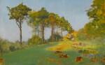 IVAN PAVLOVICH POKHITONOV | Summer at Jupille, Study of Trees