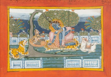 View 9. Thumbnail of Lot 69. RAJASTHAN, LATE 18TH CENTURY AND 19TH CENTURY | SEVEN INDIAN MINIATURES.