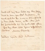 Horatio, Viscount Nelson, and Emma Hamilton   two autograph letter signed, to Catherine and George Matcham, 1805
