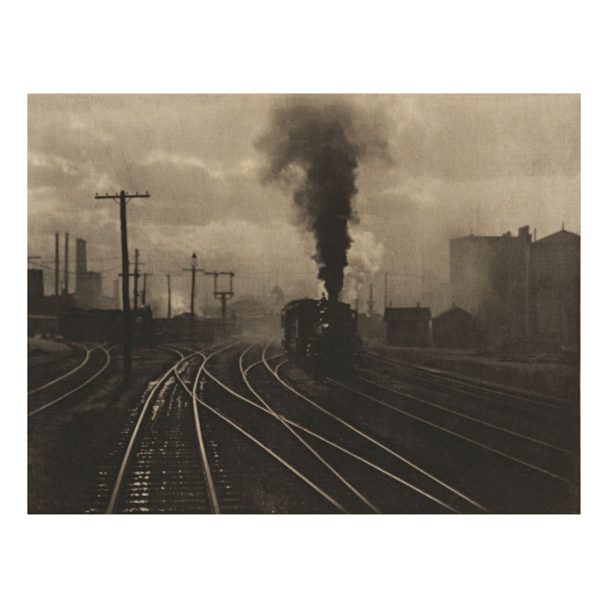 View full screen - View 1 of Lot 49. ALFRED STIEGLITZ | 'THE HAND OF MAN'.