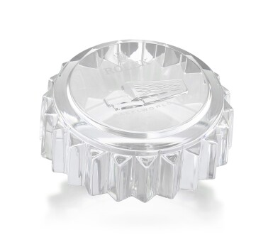 ROLEX | A CRYSTAL PAPERWEIGHT, MADE FOR BASELWORLD 2013